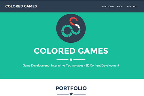 Colored Games : Website